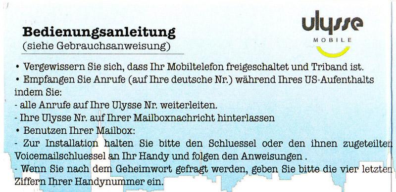 telefonieren deutschland usa