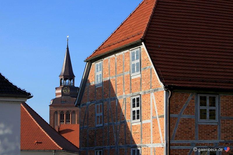 Domschule Güstrow: Historische Altstadt Güstrow